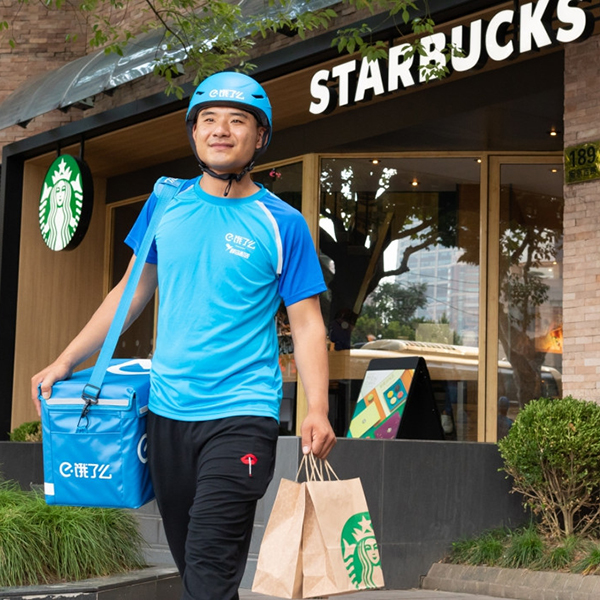 Starbucks is working with Alibaba to introduce delivery service in China