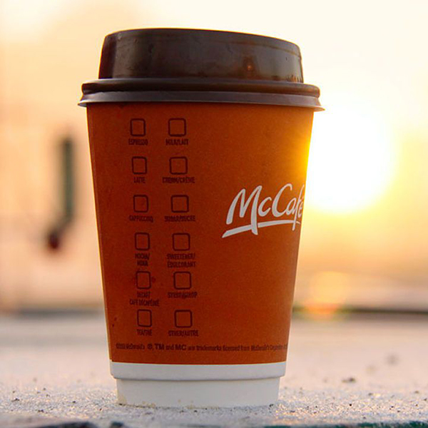 McCafe: McDonald launched its coffee delivery service in China