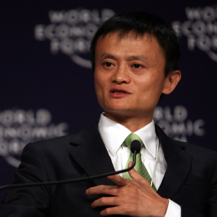 Jack Ma Said The Internet is The Relations of Production in His Interview 2017